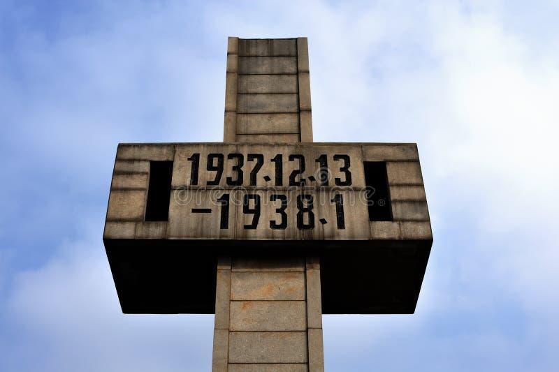 μνημείο σφαγής στοκ φωτογραφία με δικαίωμα ελεύθερης χρήσης