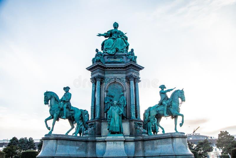 Μνημείο της Μαρίας Theresa στη Βιέννη, Αυστραλία στοκ εικόνες με δικαίωμα ελεύθερης χρήσης