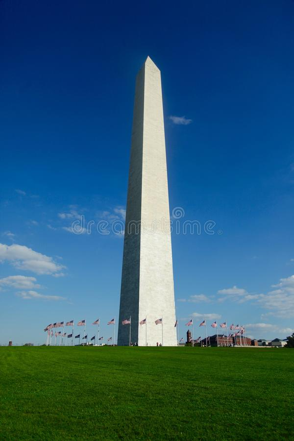 Μνημείο της Ουάσιγκτον στοκ εικόνες