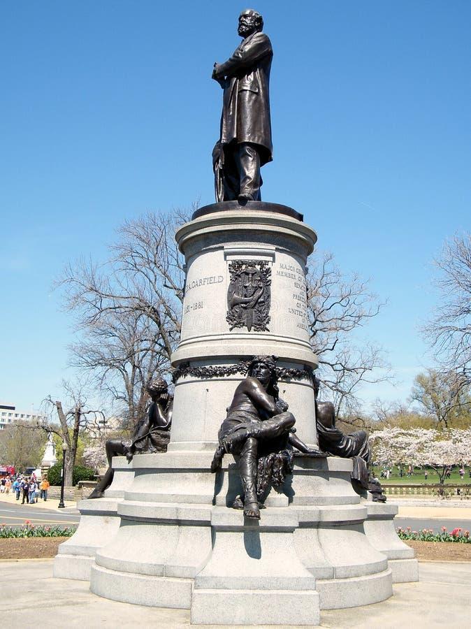 Μνημείο 2010 της Ουάσιγκτον Garfield στοκ φωτογραφία με δικαίωμα ελεύθερης χρήσης