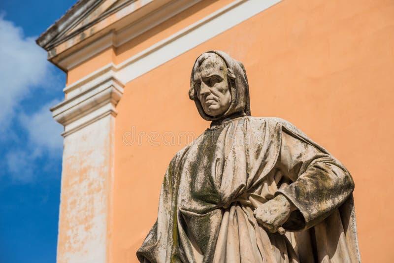 Μνημείο της Nicola Pisano στην Πίζα στοκ εικόνες με δικαίωμα ελεύθερης χρήσης