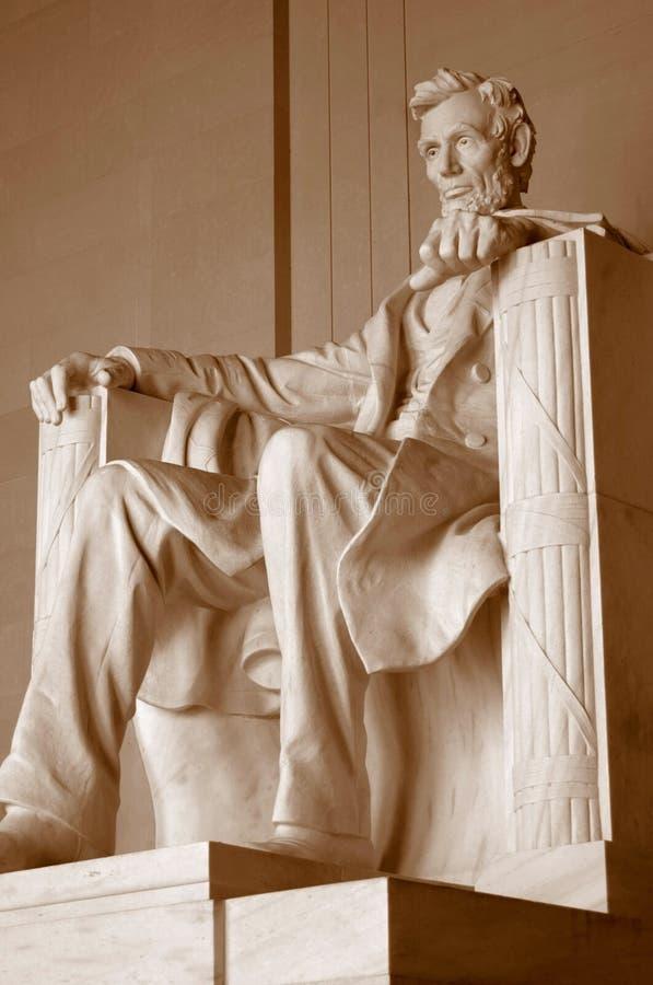 μνημείο του Λίνκολν στοκ εικόνες