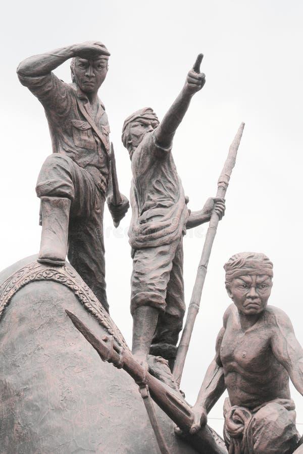 Μνημείο του Μαλάνγκ στοκ φωτογραφία με δικαίωμα ελεύθερης χρήσης