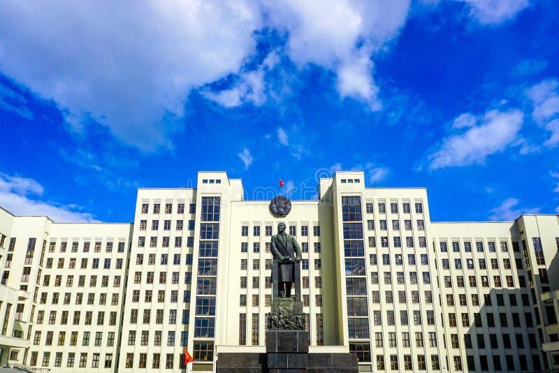 Μνημείο του Μινσκ Λένιν στοκ εικόνες