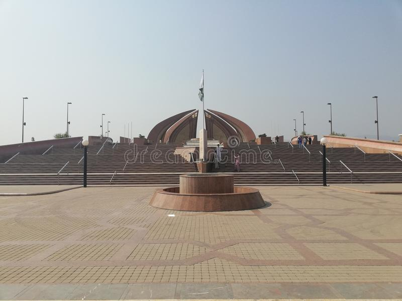 Μνημείο του Πακιστάν στοκ φωτογραφία με δικαίωμα ελεύθερης χρήσης