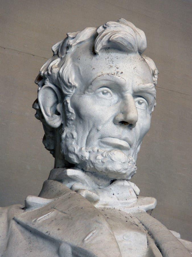 μνημείο του Abraham Λίνκολν στοκ εικόνα