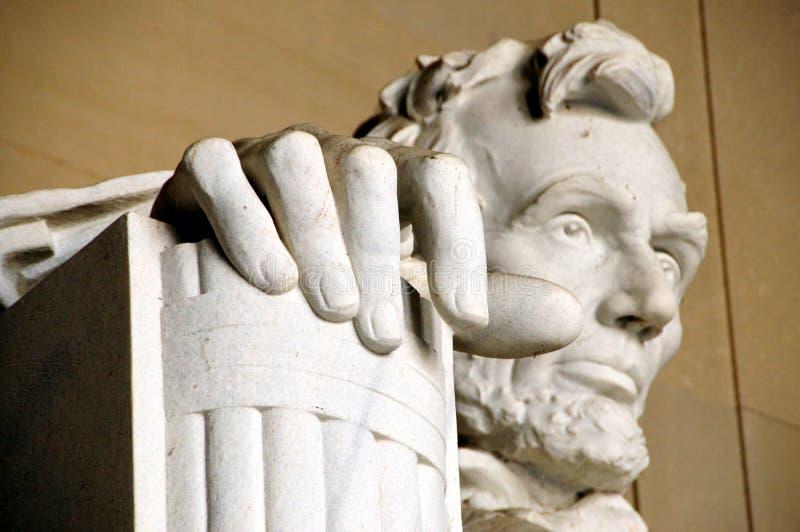 μνημείο του Abraham Λίνκολν στοκ φωτογραφίες με δικαίωμα ελεύθερης χρήσης