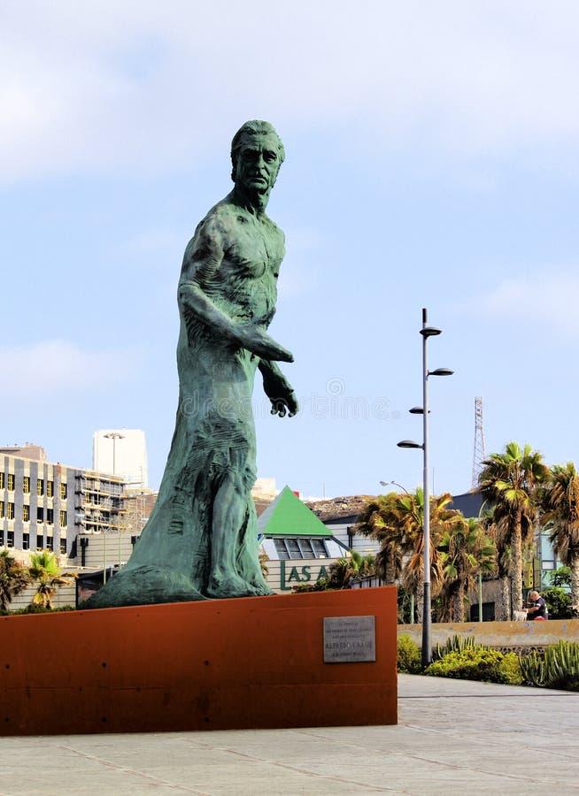 Μνημείο του Alfredo Kraus στοκ φωτογραφία με δικαίωμα ελεύθερης χρήσης