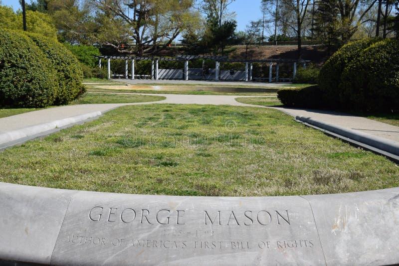 Μνημείο του George Mason στο Washington DC στοκ εικόνες με δικαίωμα ελεύθερης χρήσης