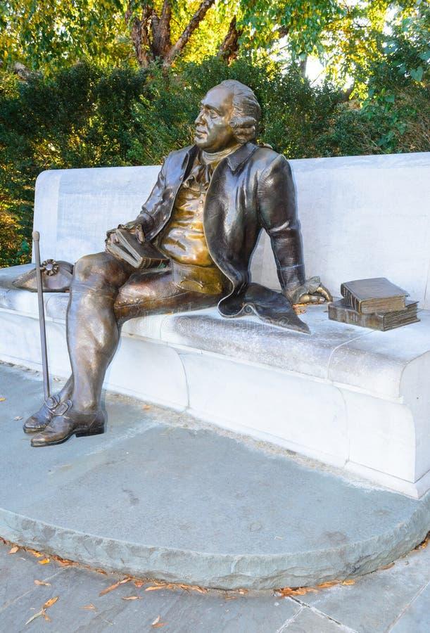 Μνημείο του George Mason στοκ εικόνες