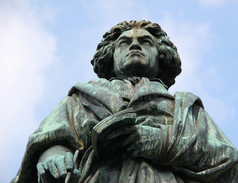 Μνημείο του Ludwig van Beethoven στοκ εικόνες με δικαίωμα ελεύθερης χρήσης