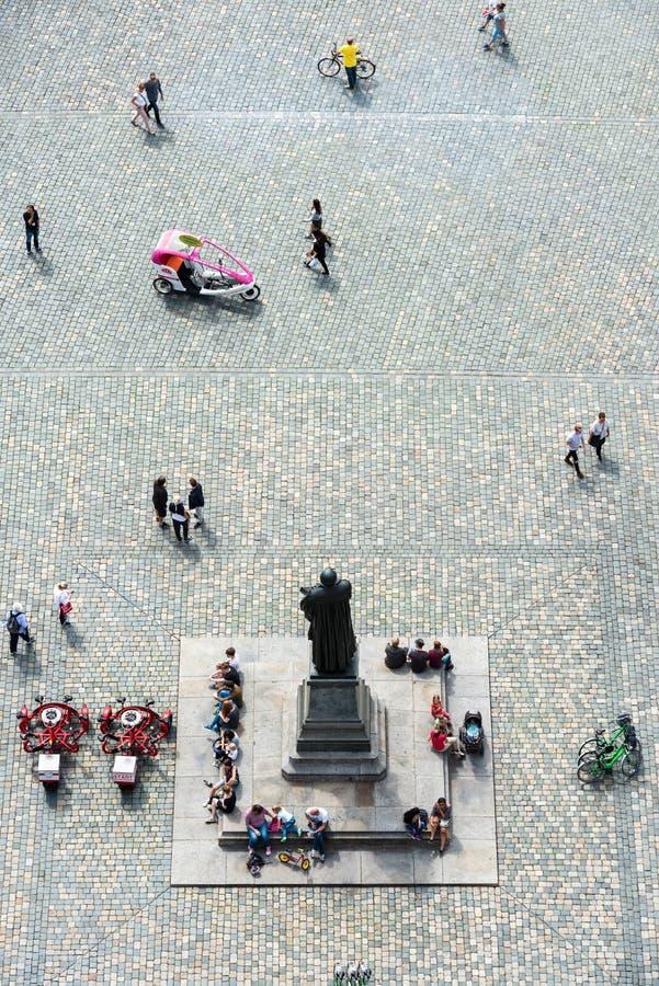 Μνημείο του Martin Luther σε Neumarkt στη Δρέσδη στοκ εικόνες με δικαίωμα ελεύθερης χρήσης