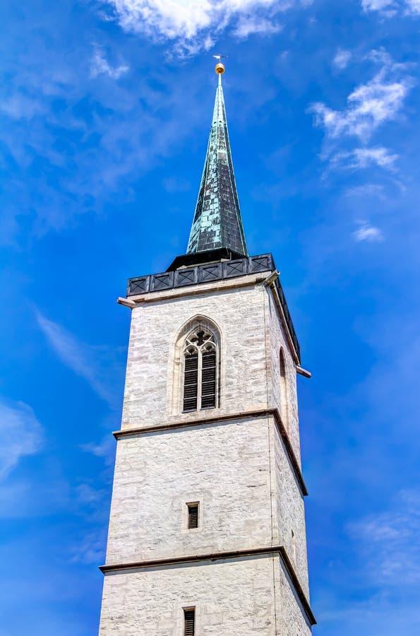 Μνημείο του Martin Luther στην Ερφούρτη στοκ φωτογραφίες