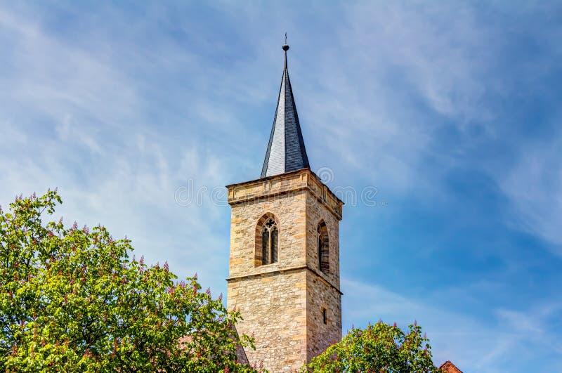 Μνημείο του Martin Luther στην Ερφούρτη στοκ φωτογραφίες με δικαίωμα ελεύθερης χρήσης