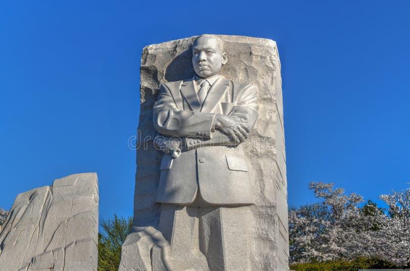Μνημείο του Martin Luther King - Ουάσιγκτον, συνεχές ρεύμα στοκ φωτογραφία με δικαίωμα ελεύθερης χρήσης