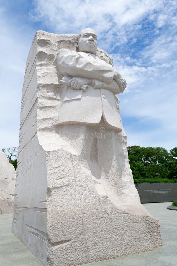 Μνημείο του Martin Luther King στο συνεχές ρεύμα στοκ εικόνα