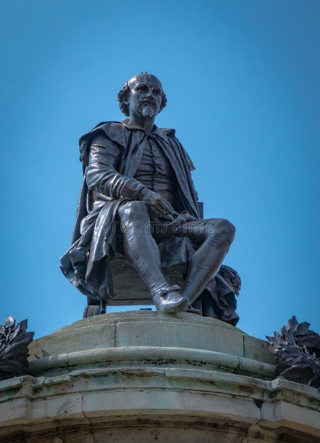 Μνημείο του William Shakespeare σε stratford-επάνω-Avon στοκ εικόνες με δικαίωμα ελεύθερης χρήσης