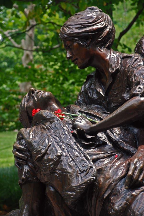Μνημείο των γυναικών του Βιετνάμ στοκ φωτογραφίες
