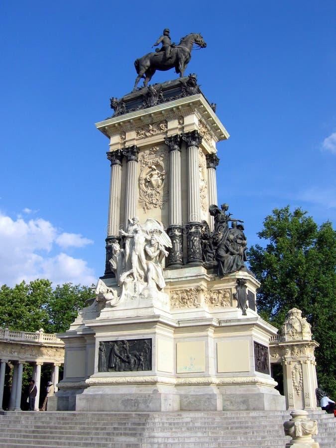 μνημείο ΧΙΙ του Alfonso στοκ εικόνες
