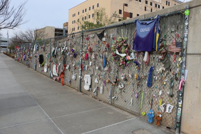Μνημείο Afred Π Murrah Πόλεων της Οκλαχόμα στοκ φωτογραφίες