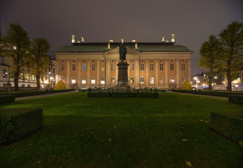 Μνημείο Axel Oxenstierna Στοκχόλμη Σουηδία 05 11 2015 στοκ εικόνες με δικαίωμα ελεύθερης χρήσης