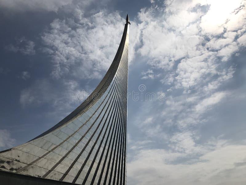 Μνημείο Gagarin πυραύλων της Στέλλα στοκ εικόνα με δικαίωμα ελεύθερης χρήσης