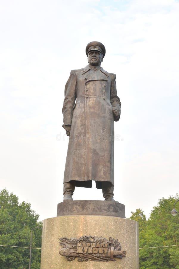 Μνημείο Georgiy Konstantinovich Zhukov στοκ εικόνα με δικαίωμα ελεύθερης χρήσης
