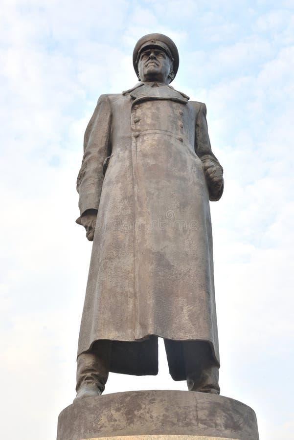 Μνημείο Georgiy Konstantinovich Zhukov στοκ εικόνες