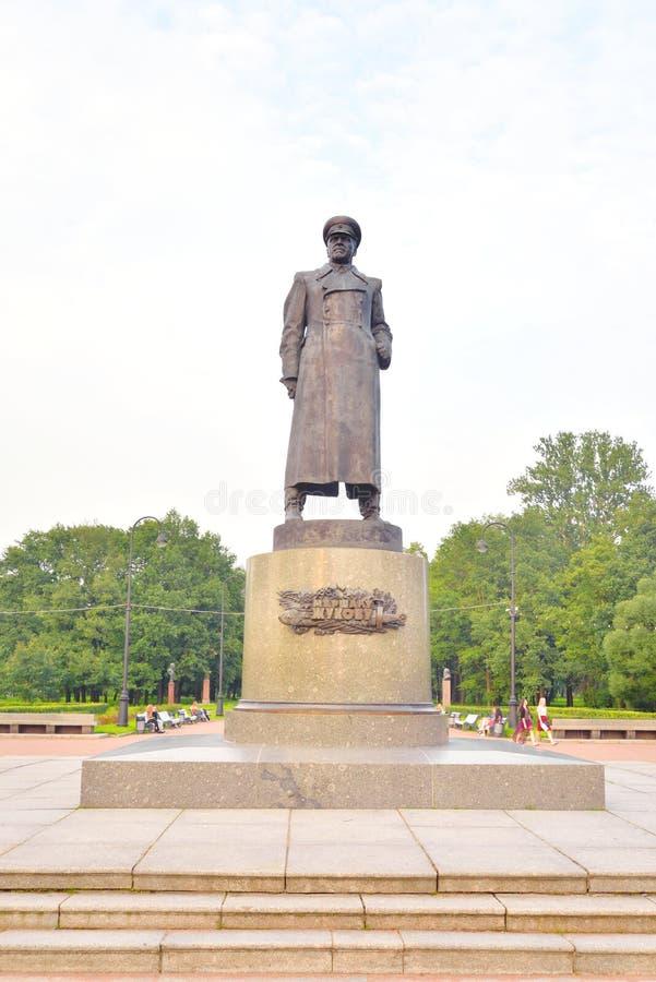 Μνημείο Georgiy Konstantinovich Zhukov στοκ φωτογραφία με δικαίωμα ελεύθερης χρήσης