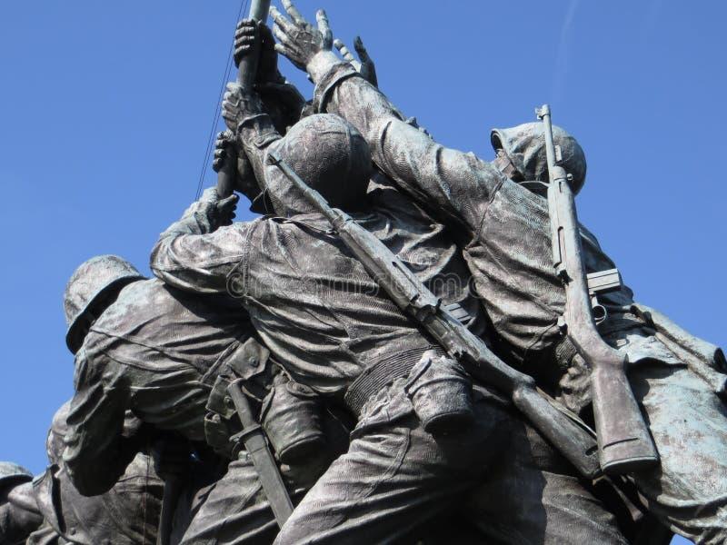 μνημείο jima iwo στοκ φωτογραφίες με δικαίωμα ελεύθερης χρήσης