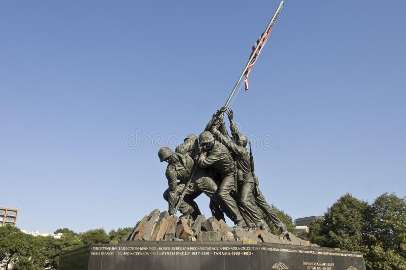 μνημείο jima iwo στοκ φωτογραφία με δικαίωμα ελεύθερης χρήσης
