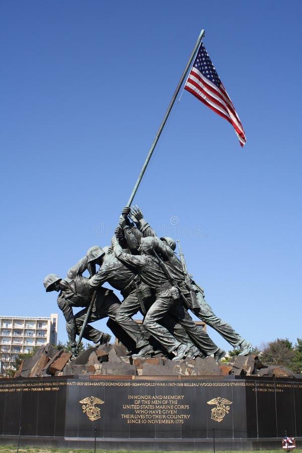 μνημείο jima iwo στοκ εικόνες με δικαίωμα ελεύθερης χρήσης
