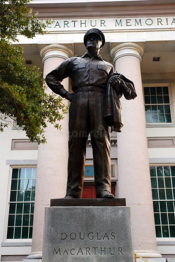 Μνημείο MacArthur στο Norfolk Βιρτζίνια στοκ φωτογραφία