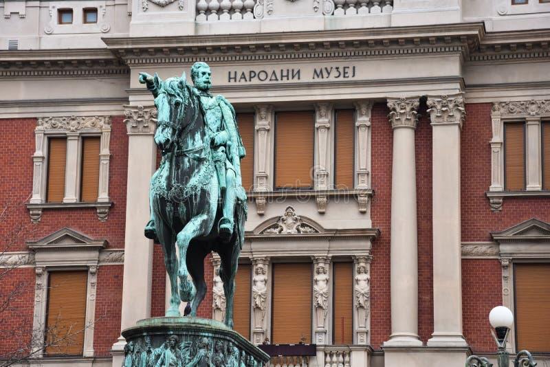 Μνημείο Mihailo πριγκήπων στοκ φωτογραφία