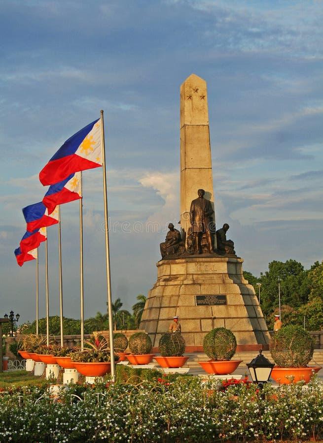 μνημείο rizal στοκ εικόνες