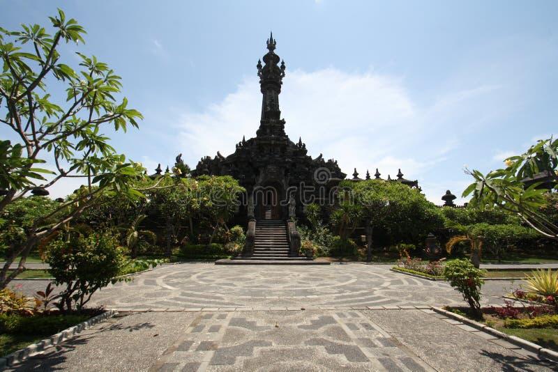 Μνημείο Sandhi Bajra, Denpasar, Μπαλί, Ινδονησία στοκ φωτογραφία