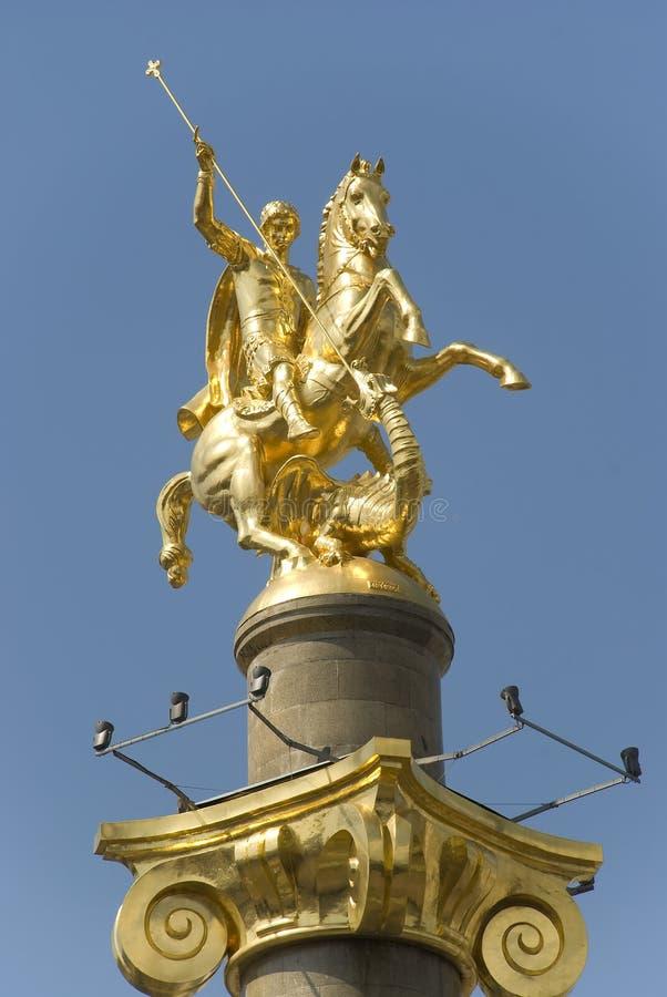 μνημείο ST George στοκ φωτογραφίες