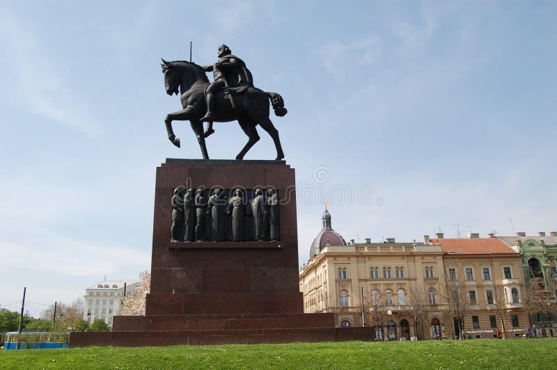 μνημείο tomislav Ζάγκρεμπ βασιλιάδων στοκ φωτογραφίες