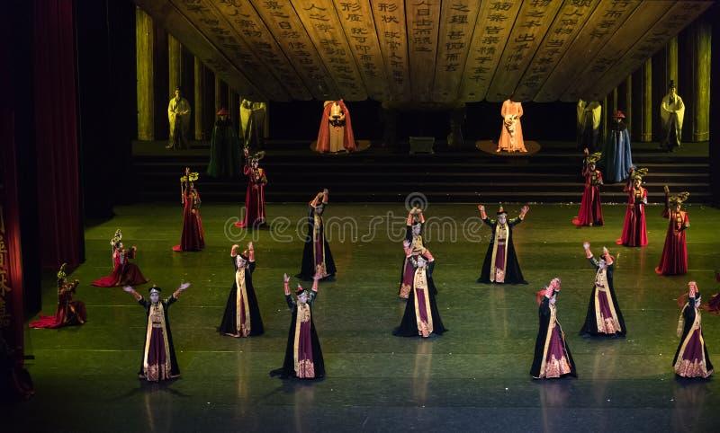 Μογγολικός χορού χορός δικαστηρίου Daligenbayar 1-κλασσικός στοκ εικόνες