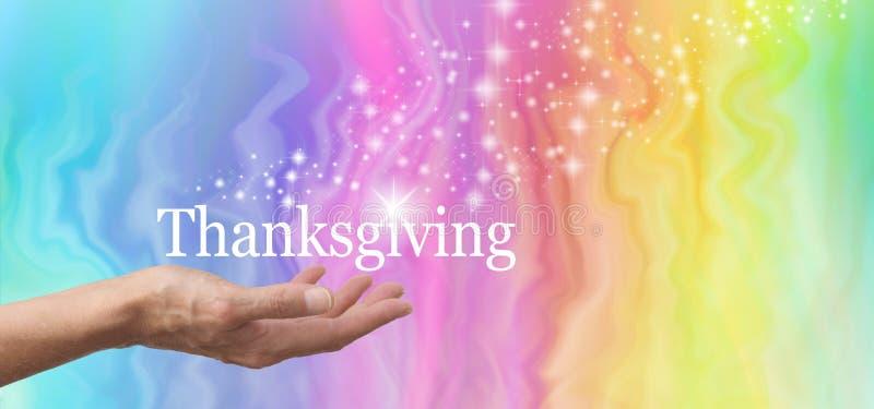 Μοιραστείτε το σπινθήρισμά σας στην ημέρα των ευχαριστιών στοκ εικόνες με δικαίωμα ελεύθερης χρήσης