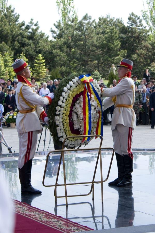 μολδαβική νίκη στρατιωτών &et στοκ εικόνες