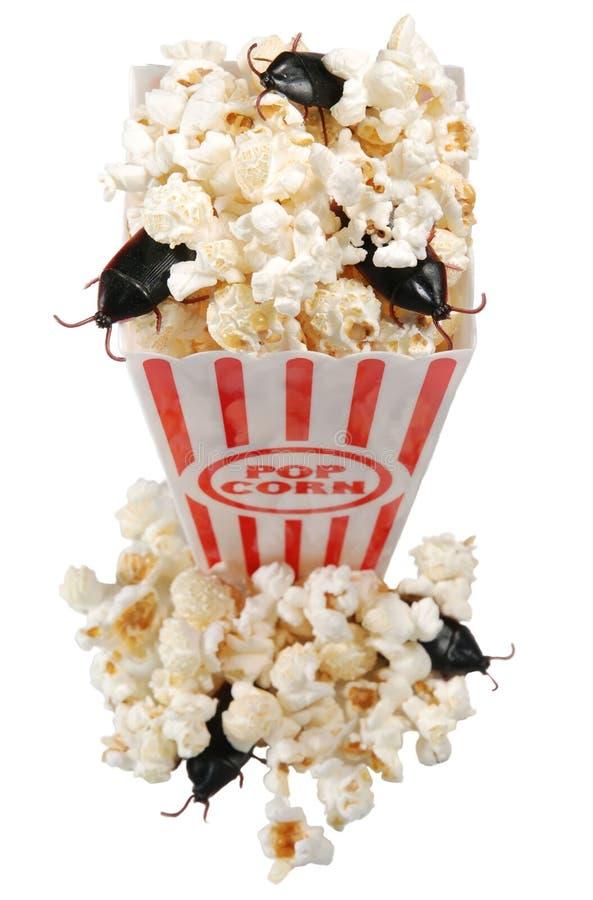μολυσμένο popcorn στοκ εικόνα με δικαίωμα ελεύθερης χρήσης