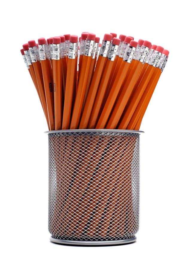 μολύβια ομάδας στοκ φωτογραφία