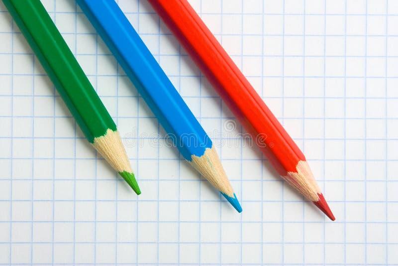 Download μολύβια στοκ εικόνες. εικόνα από χρώμα, πέννα, σχολείο - 17052986