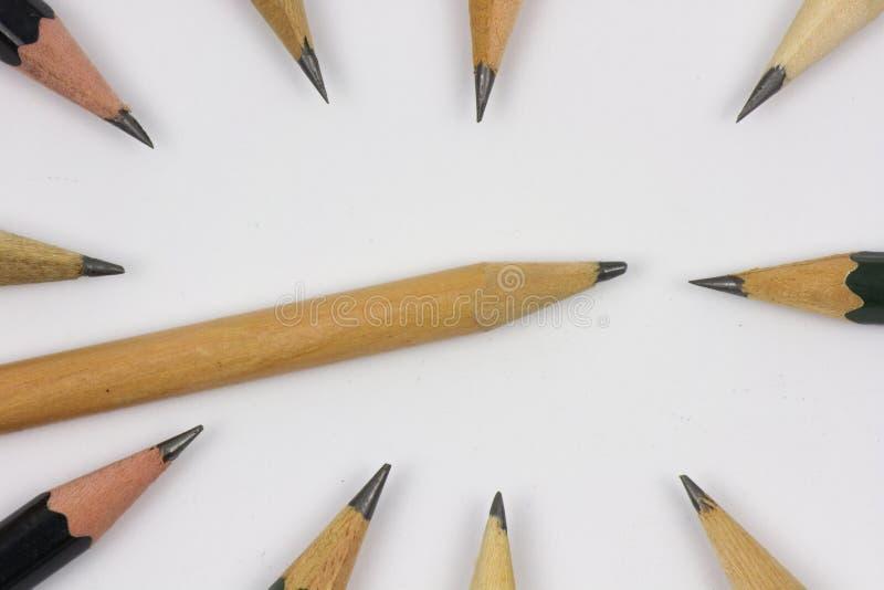 """Μολύβι με Ï""""Î¿ ακόνισμα στο υπόβαθρο της Λευκής Βίβλου στοκ φωτογραφίες με δικαίωμα ελεύθερης χρήσης"""