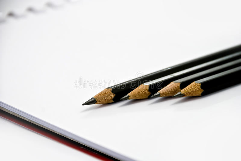 μολύβι ομάδας στοκ εικόνα με δικαίωμα ελεύθερης χρήσης