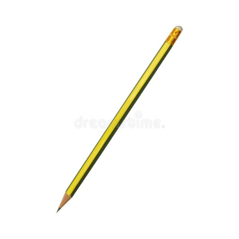 Μολύβι που απομονώνεται στο καθαρό άσπρο υπόβαθρο στοκ εικόνες με δικαίωμα ελεύθερης χρήσης