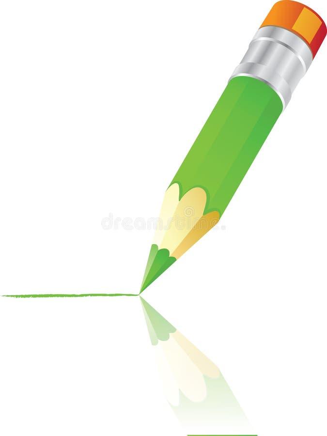 μολύβι χρώματος απεικόνιση αποθεμάτων