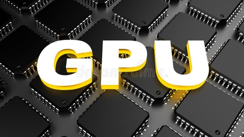 Download Μονάδα επεξεργασίας γραφικής παράστασης (GPU) Απεικόνιση αποθεμάτων - εικονογραφία από βιομηχανία, στοιχεία: 62718490