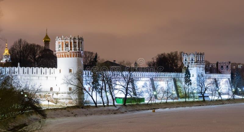 μονή Μόσχα novodevichiy Ρωσία Ρωσία στοκ εικόνα